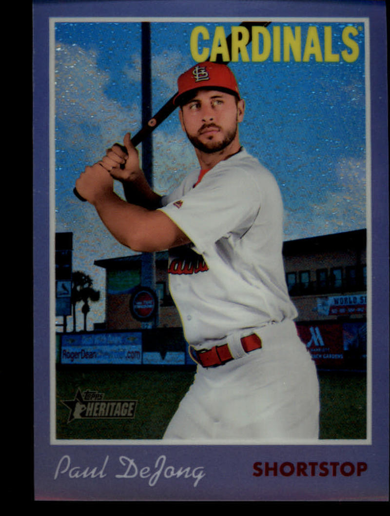 2019-Topps-Heritage-Chrome-Refractors-Purple-Hot-Box-Pick-Your-Cards thumbnail 5